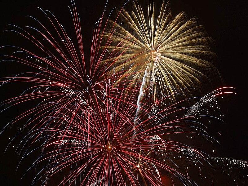 fireworks vegas