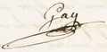 Firma de Claudio Gay.PNG