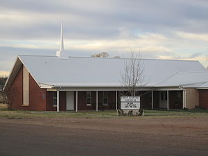 Roaring Springs, Texas - First Baptist Church of Roaring Springs