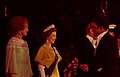 First Lady Betty Ford and Queen Elizabeth II of Great Britain Greeting Baseball Player Willie Mays in the Receiving Line on the South Driveway of the White House Prior to a State Dinner Honoring Her Majesty and Prince Philip.jpg