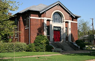 National Register of Historic Places listings in Jackson County, Arkansas - Image: First Presbyterian Church Newport AR