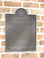 First Presbyterian NOLA Claiborne Jan 2010 Plaque.JPG