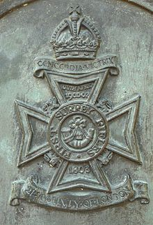 First Surrey Rifles Badge.jpg