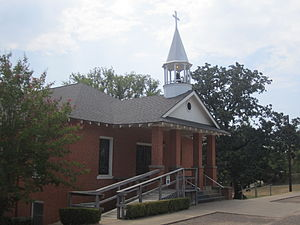 Winona, Texas - First United Methodist Church in Winona