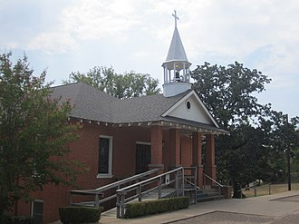Winona, Texas - First United Methodist Church in Winona