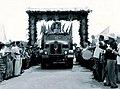 First truck of oil from Shengli Oil Field.jpg
