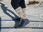 Fixation ski de fond