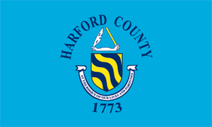 Aberdeen, Maryland - Image: Flag of Harford County, Maryland