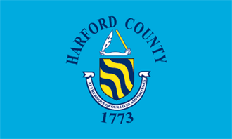 Baltimore County, Maryland - Image: Flag of Harford County, Maryland
