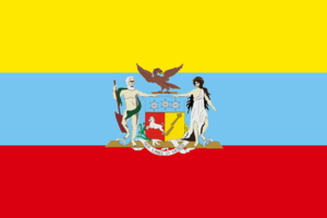 Flag of Gran Colombia - Image: Flag of the Gran Colombia (1822 proposal)
