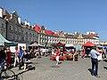 Flea market at Zamkowy Square in Lublin, Aug 2019, 08.jpg