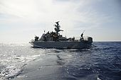 Flickr - Israel Defense Forces - The Israeli Navy sets sail on another mission in the mediterranean.jpg