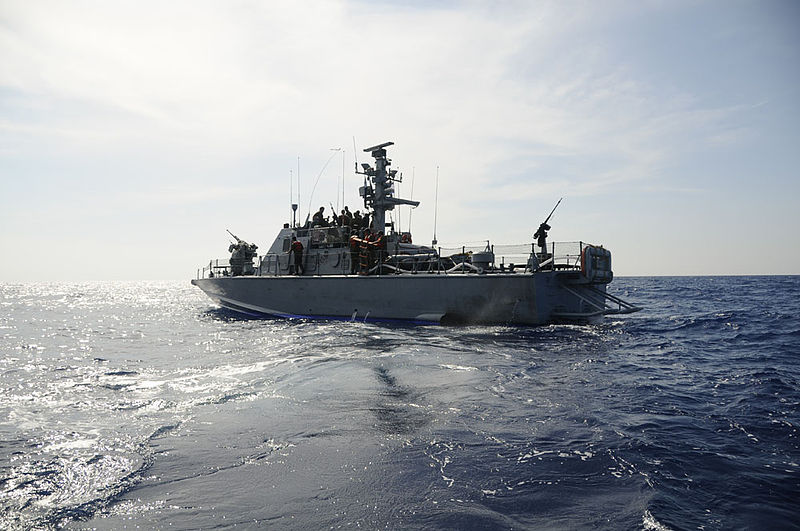 File:Flickr - Israel Defense Forces - The Israeli Navy sets sail on another mission in the mediterranean.jpg