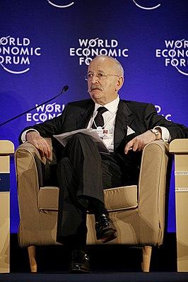 Victor Halberstadt tijdens het World Economic Forum in Istanboel (2008)