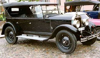 Flint (automobile) - Flint B-40 Touring 1925