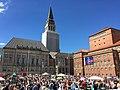 Flohmarkt Kiel Rathausplatz.JPG