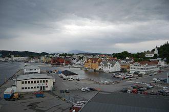 Flora, Norway - View of Florø