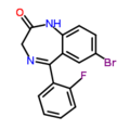 Flubromazepam structure.png