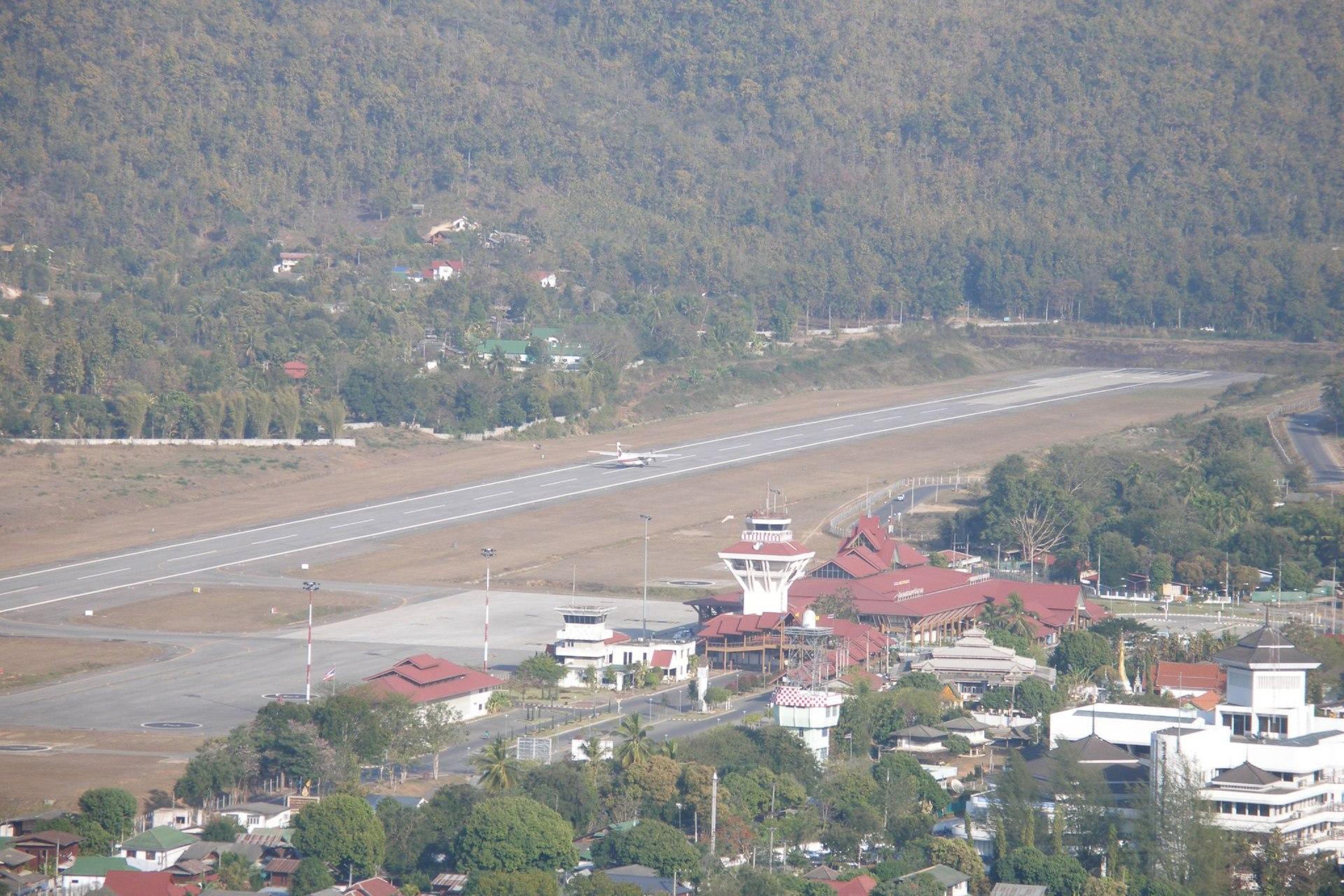 Flughafen Mae Hong Son
