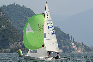 Flying Dutchman (dinghy) - Image: Flying Dutchman AUT 38