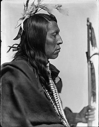 Flying Hawk - Chief Flying Hawk, Oglala Lakota, Gertrude Käsebier, 1898, Library of Congress