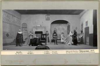 Folkungasagan, Svenska teatern 1901. Föreställningsbild - SMV - H12 048.tif