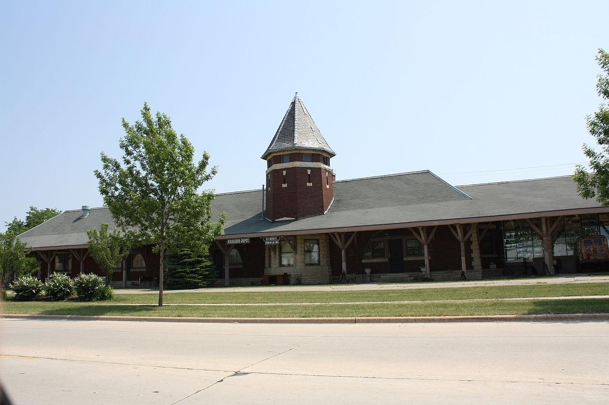 Fond Du Lac Wi >> Chicago And Northwestern Railroad Depot Fond Du Lac