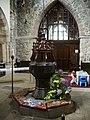 Font, The Parish Church of St Andrew, Sedbergh - geograph.org.uk - 436402.jpg