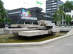 Joop Beljon - Fountain (1972), Willemsplein Tilburg