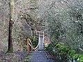Footbridge over Shield Burn - geograph.org.uk - 628604.jpg