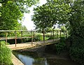 Footbridge over the River Can - geograph.org.uk - 816871.jpg