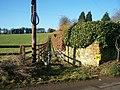 Footpath on Kiln Barn Road - geograph.org.uk - 1144103.jpg