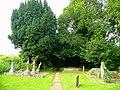 Footpath through Walford churchyard - geograph.org.uk - 975715.jpg