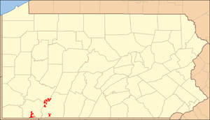 Forbes State Forest - Image: Forbes State Forest Locator Map