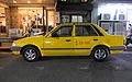 Ford Laser (KE) Parked at Lane 11, Xindong Street Left Side View 20141224.jpg