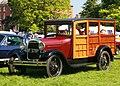 Ford Woody mfd (originally) 1929 and engine cap 3200 cc per DVLA first registered UK June 2011.jpg