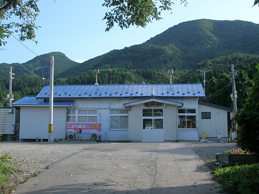 Former Iwadate Station 20070820