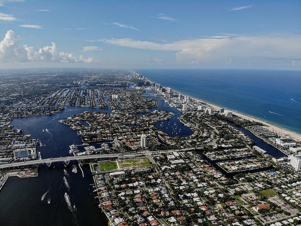 Fort Lauderdale Aerial Shot