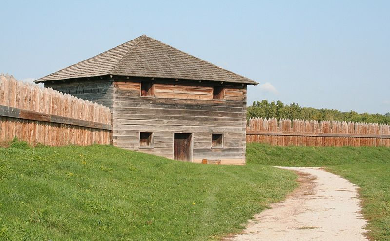 Fort Meigs, courtesy of user Triple Tri on Wikimedia Commons