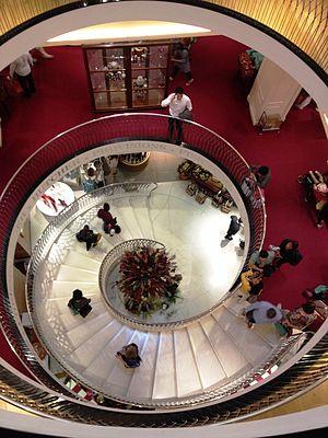 Fortnum & Mason - Main staircase inside