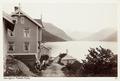 Fotografi av Faleide Hotel. Nordfjord, Norge - Hallwylska museet - 105699.tif
