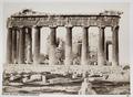 Fotografi av Parthenon på Akropolis i Aten - Hallwylska museet - 103038.tif