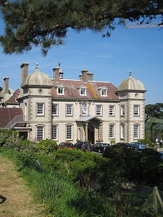 Toad Hall (The Wind in the Willows) - Image: Fowey Hall hotel geograph.org.uk 799435