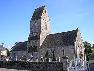 Vaucelles - Image: France Normandie Vaucelles Eglise