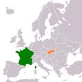 France Slovakia Locator.png