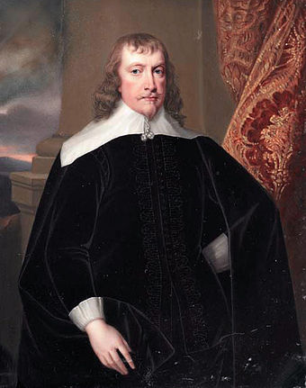 Francis Russell, Lyme Regis 1610 Francis, 4th Earl of Bedford by Henry Bone.jpg