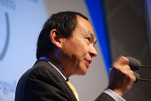 Francis Fukuyama at New World, New Capitalism ...