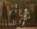 Francis Hayman (1708-1776) - Francis Hayman, Grosvenor Bedford - NPG 217 - National Portrait Gallery.jpg