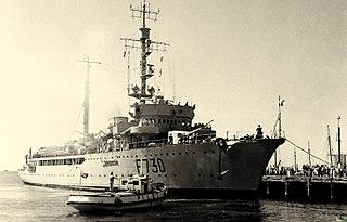 Italian sloop <i>Eritrea</i> 1937-1966 colonial patrol ship of the Italian and French navies