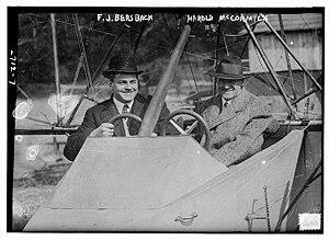 Harold Fowler McCormick - Image: Frank John Bersbach and Harold Fowler Mc Cormick